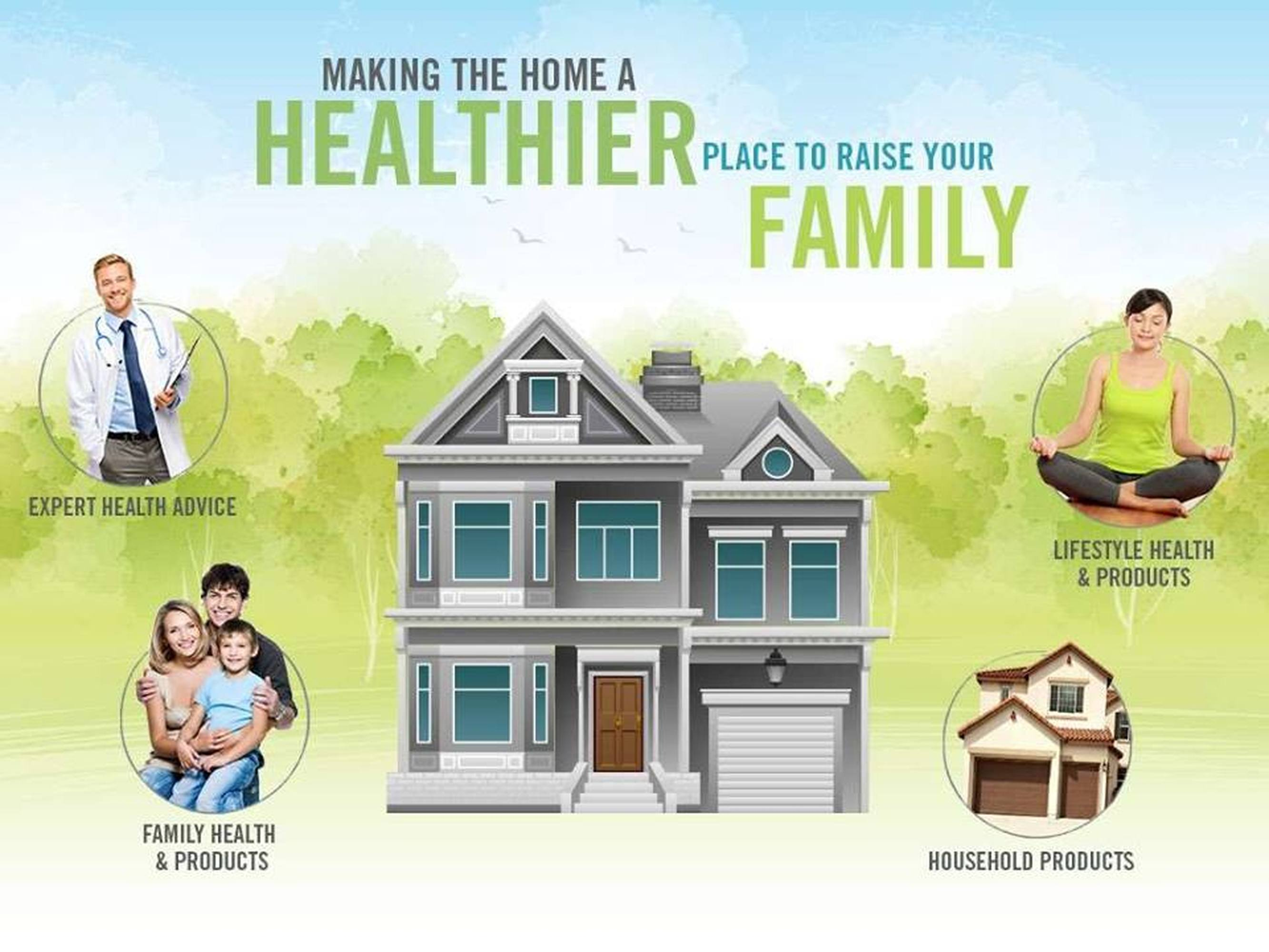 Healthy Home and Healthy Family by Clint Fuqua in Dallas TX